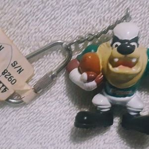 Vintage Looney tunes Dolphins keychain